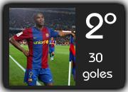 Etoo 2008 2009 - 30 Goles